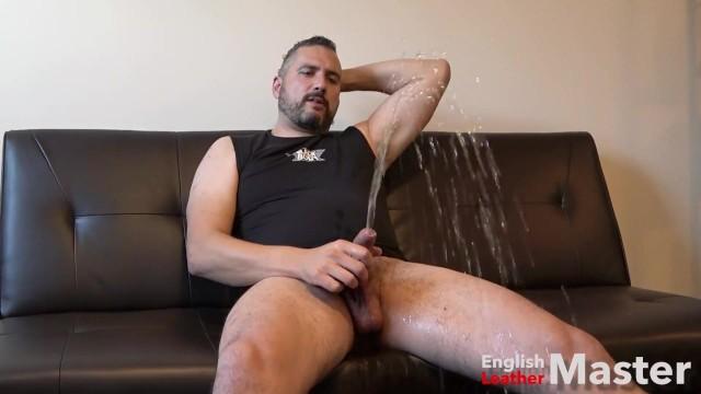 Solo Male Masturbation Boxers