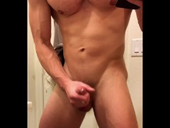 brandon cody jacking off and butt play