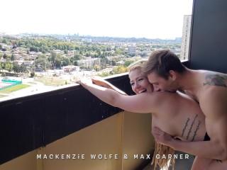Toronto Couple Gets Caught Having Creampie Sex on Their Balcony (sound on)