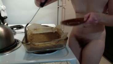 """Redhead Makes """"Special"""" Blondies! (With Pot!) Naked in the Kitchen Episode 10"""