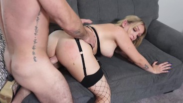Slut Tranny Gets Fucked By Her Military Stepdad