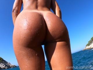 Wet butt porn