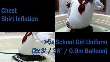 WWM - School Girl Uniform Inflation