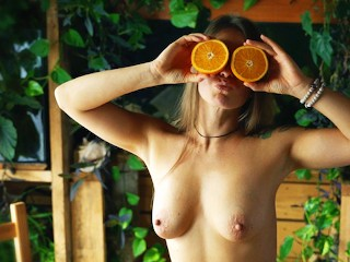 Fruit + Sex – Delicious Porn – Missionary On The Kitchen Table