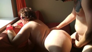 Hot morning sex with russian milf