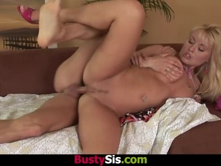 BustySis - Busty Sis Anastasia Hardcore Fucking With Lewd Stepbro
