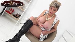 Granny Fake Tits