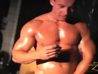 Robert van damme strip show with blow job...