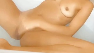 Fingering My Tight Wet Pussy in the Shower