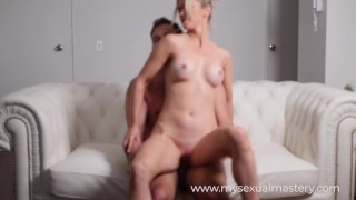 SHY BLONDE CASTING COUCH HAS CRAZY ORGASM DURING HER AUDITION