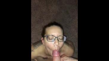 Amateur Cum Slut getting facial