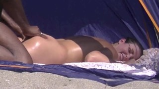 Helena Price - My Caribbean Nude Beach Vacation Part 2 - Getting Felt Up By A Black Man!