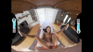 WETVR Skillful Asian Uses Her Pussy To Milk Massage Big Dick In VR