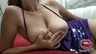 Amazing Huge Natural Saggy Tits Milf
