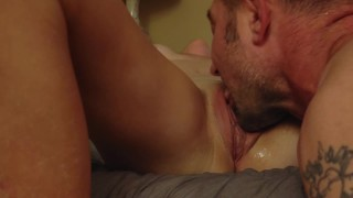 Real Orgasm making her cum hard from Pussy Clit licking and sucking cunnilingus