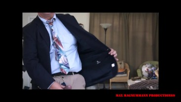 Mega Hung Daddy & a Big Waterfall Load HD (The Businessman with a Monster Cock)