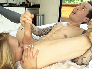 Owen gray gets rimmed by hot girls compilation...