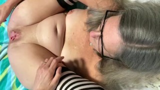 POV Milf Wife Spreads Her Pussy Wide And Enjoys Some Intense Fingering