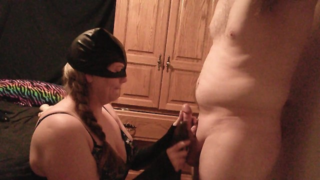 sucking my bbc dildo and my little bitch at the same time 48