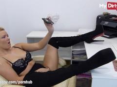 MyDirtyHobby - Bibixxx anal fingering and teasing compilation