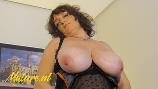 Huge Tits Latina Has Her First Professional Porn Video