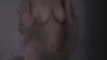 Hot Sex in the Shower with Big Tits Girl