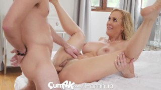 CUM4K Big Tit Step Mom Filled Up With Multiple Oozing Creampies