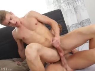 Ginger guy fucks my ass...