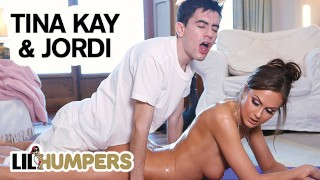 Lil Humpers - Perv Lil Masseuse Jordi Makes Love With big tit MILF Tina Kay