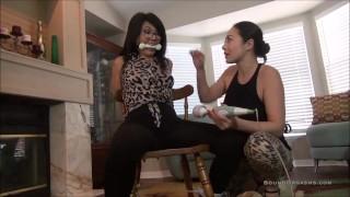 """MILF Gigi & Nyssa Nevers In """"Door To Door Orgasm"""""""