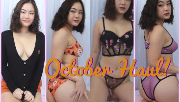 October Haul / Try On