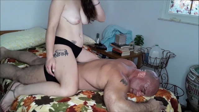Anastasia Rose gets off on my ass 23