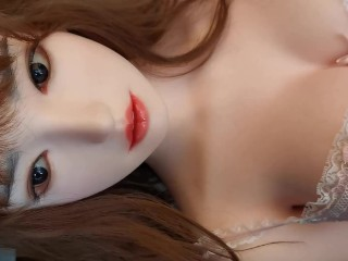 No mercy for dick silicone sex robot byeol...