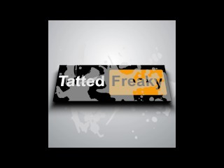 Amazing tatted freak teases you with and wants...