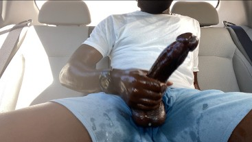 BBC Dirty Talk and Car Stroking