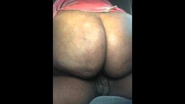 THICK EBONY RIDES AND CUMS ON BBC FOR A NUT INSIDE HER
