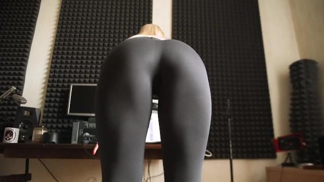 Porn cum on leggings Free Cum