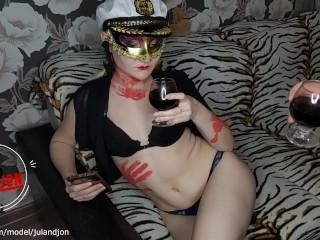 Halloween story threw viagra in wine and girl...