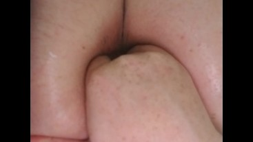 opening my ass with an inflatable plug