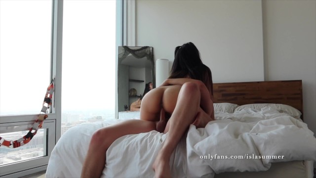 Big Tit Asian Teen in Pigtails Gets Choked and Creampied