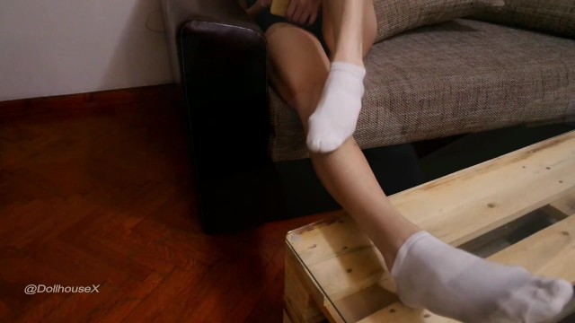 A Super Dirty White Ankle Socks Preview 8