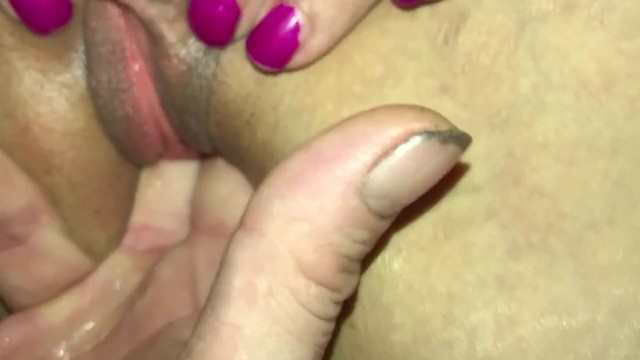 Squirt out tiny pink hole close up 20