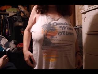 Huge veiny milf tits...