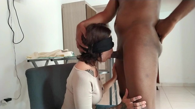 Blackmailed Into Sucking Dick