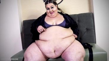 SSBBW Feedee My Feeder Got Fat