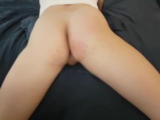 Teen ass spanking 4 cum hd sissy spread...