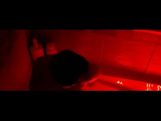 Cameltoe Pussy Masterbates In Bathtub