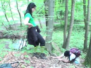 femdom mistresses dominate slaves