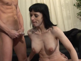 Petite sex at the private casting...