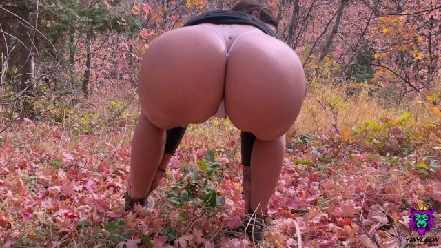 Big tits walking pornhub Big Ass Puertorican Milf Gets Public Anal Fucked After Trail Walk Pornhub Com